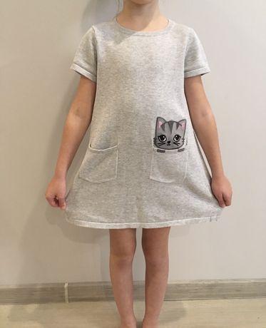 Tunika dzianinowa H&M kotek r. 110/116