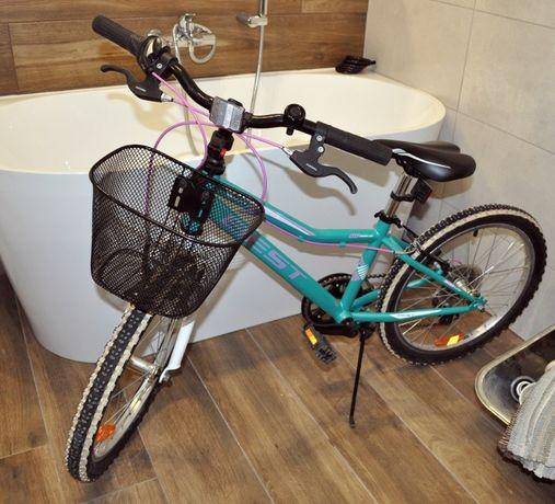 """rower best mili dziewczęcy koła 20"""", stan bardzo dobry, 5 lat +"""
