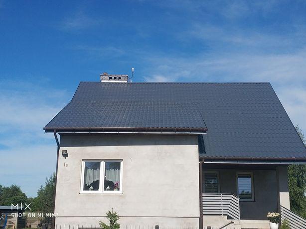 Malowanie dachu ,dachów eternit blacha