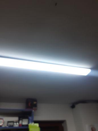 Lampa led 240w garaźowa warsztatowa najmocniejsza na rynku 5.pasów led