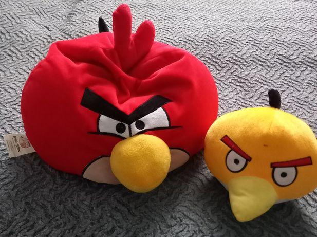 Maskotki pluszaki Angry Birds Czerwony ptak i Chuck