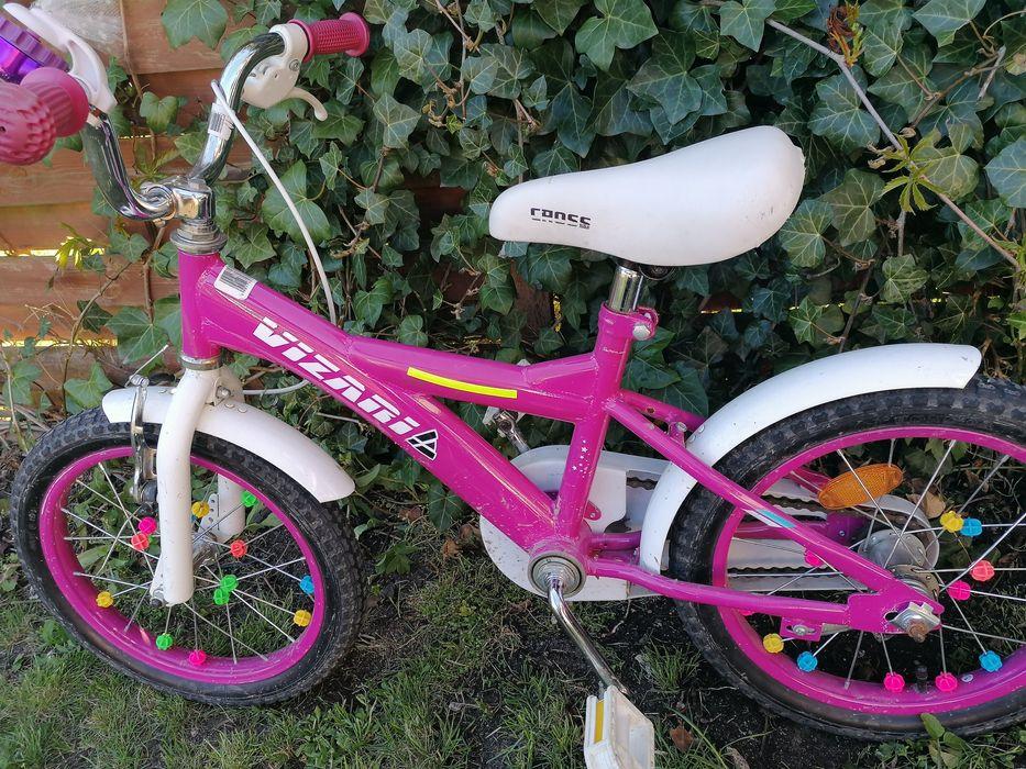 Rower dla dziewczynki 16 cali Władysławowo - image 1