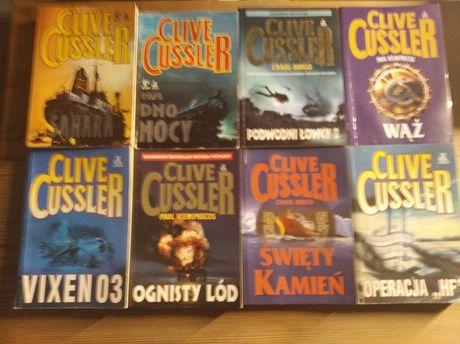 Clive Cussler kilka książek