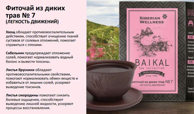 Фиточаи из диких трав - Baikal Tea Collection