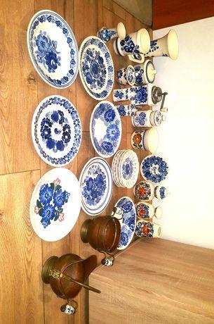 Zestaw porcelany ręcznie malowana