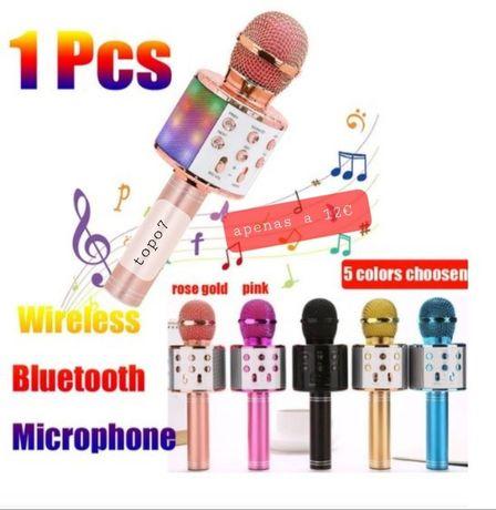 Microfone recarregavel de crianca
