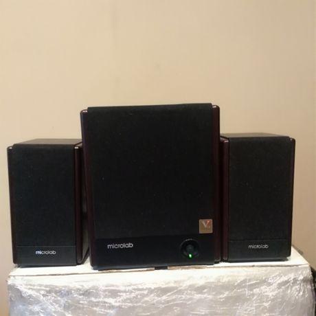Głośniki Microlab FC-330 2,1 designerskie