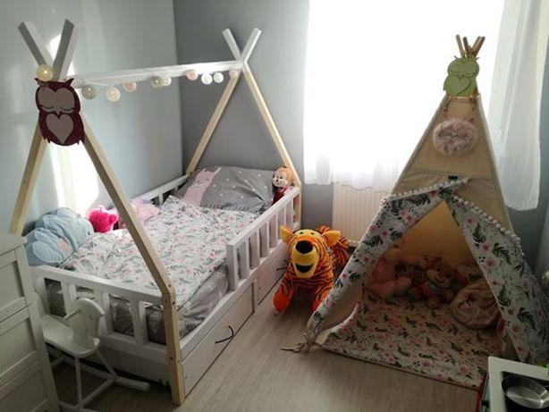 Łóżko domek łóżko TIPI 100% drewno