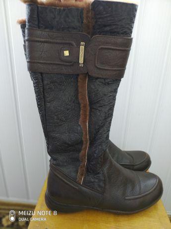Зимние сапоги  Зимові чоботи