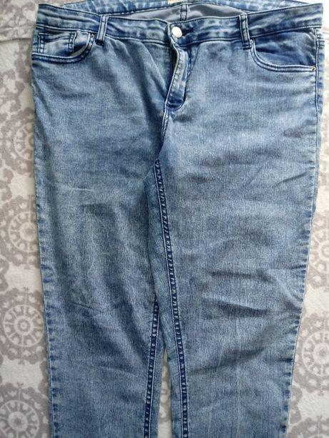 Spodnie dzinsowe 46
