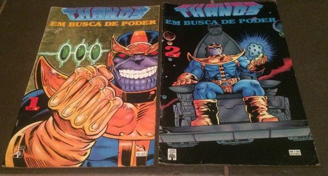 Hulk Teia Aranha X-MEN Capitão Heróis Demolidor Justiceiro Groo Thanos