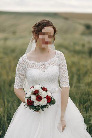 Нереально красива весільна сукня в якій ти відчуваєш  себе королево