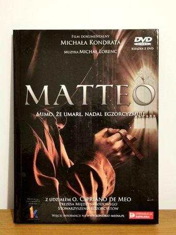"""Film dokumentalny DVD + książka """"Matteo"""" egzorcyzmy"""