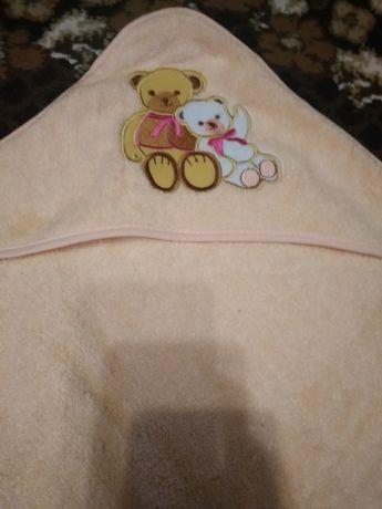 Махровий дитячий рушник