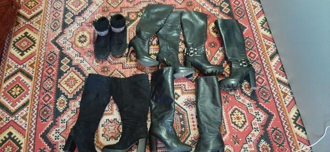 За всю зимнюю и осенню обувь 37-38р