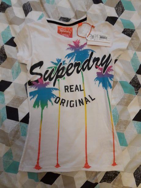 Koszulka damska superdry xxs