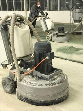 Шлифовка, полировка и реставрация бетонных полов