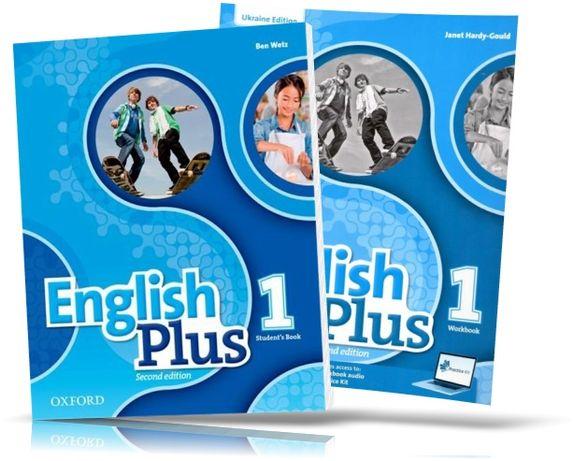English Plus1 Studentbook Workbook англ мова оригинал
