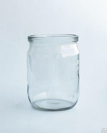 Стеклянные банки 0,5 литра