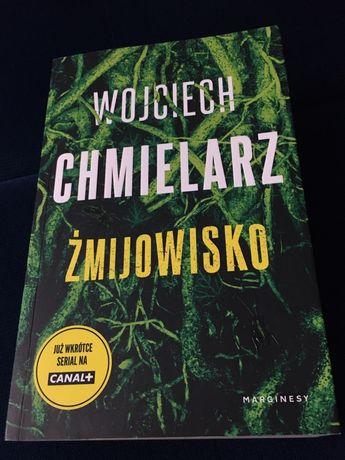 """Książka Wojciech Chmielarz """"Żmijowisko"""""""