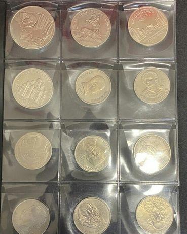 Коллекция. Шаба.(юбилейные рубли СССР,монеты,нумезматика).