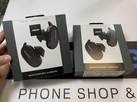 Nowe Bose QC Quietcomfort Earbuds Black Gwarancja