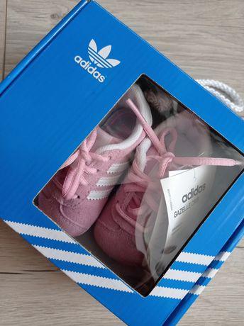 Nowe buty Adidas Gazelle Crib r.17