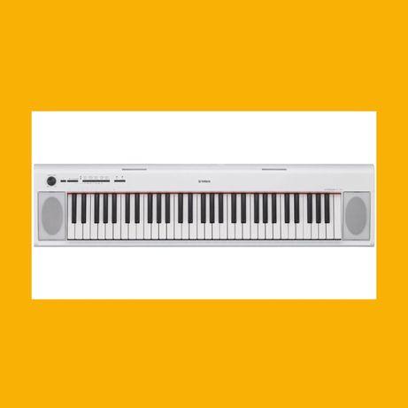 Pianino cyfrowe Yamaha NP12 WH biały Nowe Piaggero