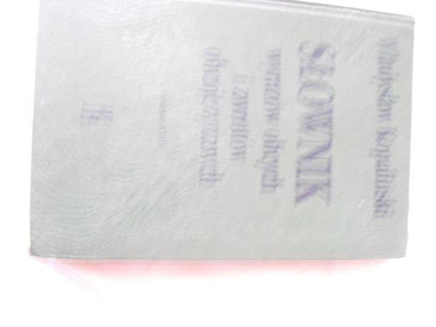 Książka Słownik Wyrazów Obcych i Zwrotów Obcojęzycznych