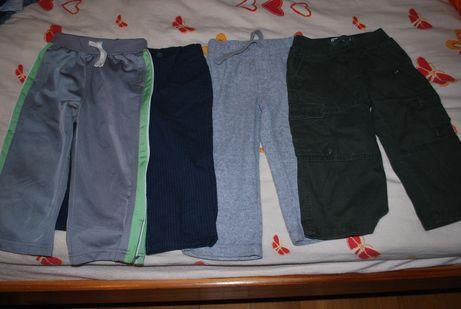 spodnie, dresy dla chłopca 80 - 86 cm
