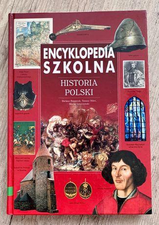 Encyklopedia szkolna Historia Polski - Banaszak Biber nowa na prezent!