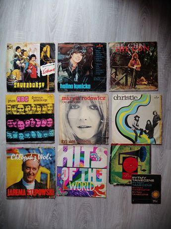 Winyle Kunicka Stępowski Rodowicz Trubadurzy Christie Hits of the worl
