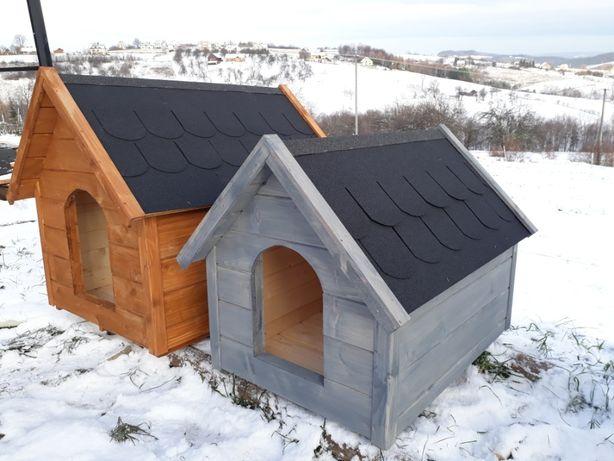 Domki budy dla psów
