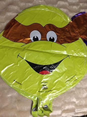 Zolw ninja myszka minie balon na hel 50 cm