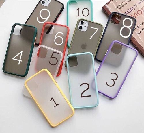 Матовый чехол для iPhone 6/7/8/+/X/Xr/Xs/11 Pro Max/se 2/Silicone Case
