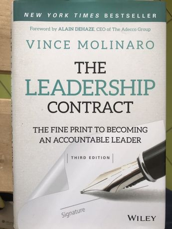 The Leadership Contract książka Vince Molinaro
