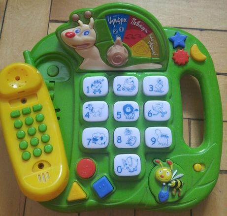 Обучающий интерактивный телефон Улитка