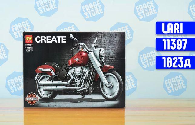 """Конструктор Bela 11397 """"Harley-Davidson Fat Boy"""", 1023 детали, лего."""