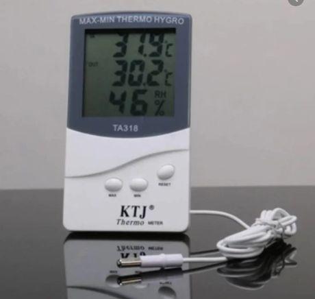 Термогигрометр KTJ ТА-318 с выносным датчиком ДЛЯ ДОМА