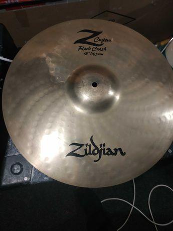 Sabian AAX Zildjian Z Custom Crash 18'' Paiste Alpha Ride 20'', 22''