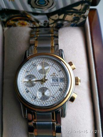 Продам новые швейцарские часы Appella 1005-2001 хронограф линия Gold