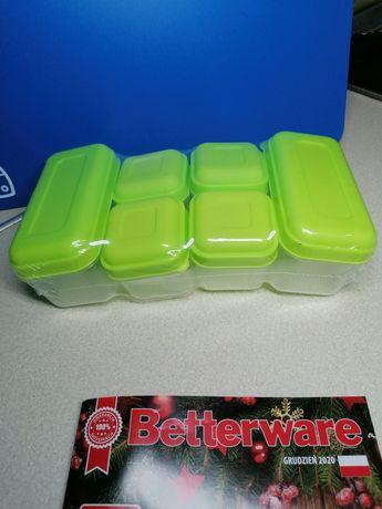 Zestaw 6 pojemników Betterware