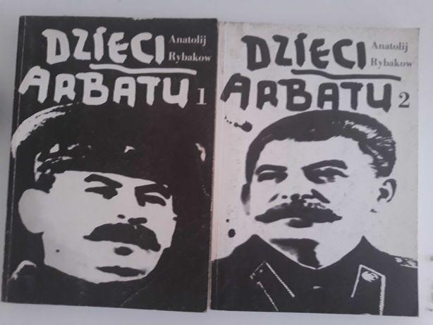"""Książki """"Dzieci Arbatu"""" A. Rybakow"""