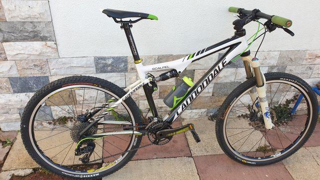 Bicicleta  Cannondale  Scalpel  Carbono, M