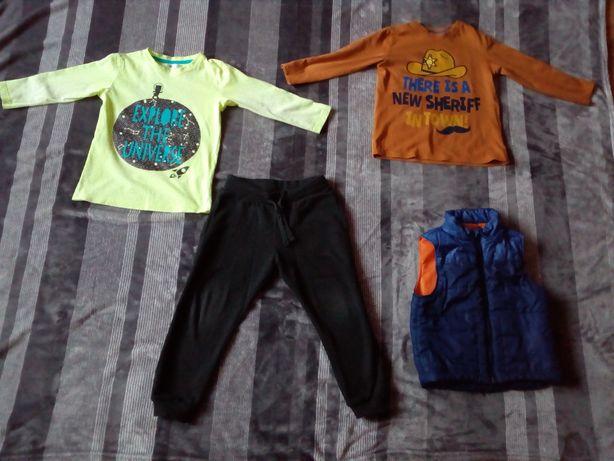 ubrania dla chłopca rozm. 104 (3 sztuki)