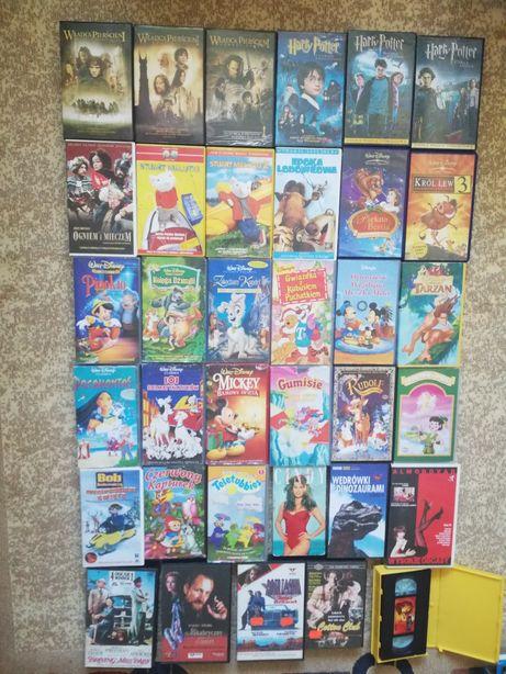 Oryginalna kolekcja kaset VHS - Harry Potter i inne + GRATIS