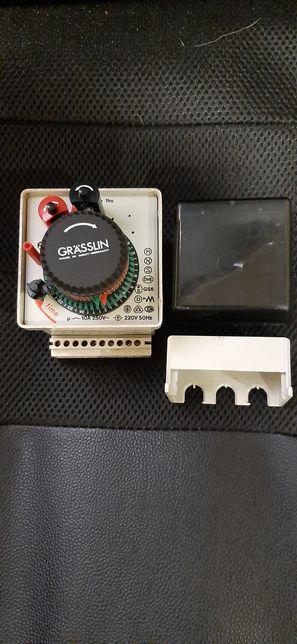 Temporizador, Relogio, analógico 2 contactos 220V 10A