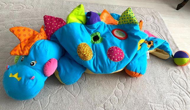 Krokodyl z piłkami