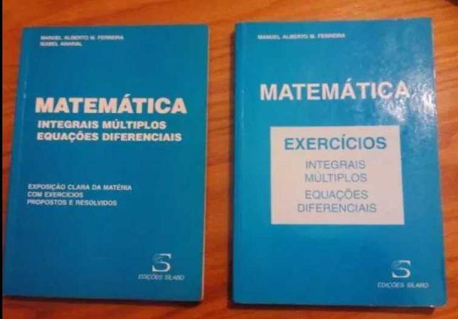 2 Livros - Análise Matemática - Integrais e equações diferenciais