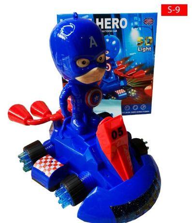 Светящаяся машинка Капитан Америка